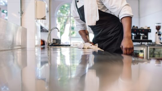 Plan de nettoyage à mettre en place en cuisine